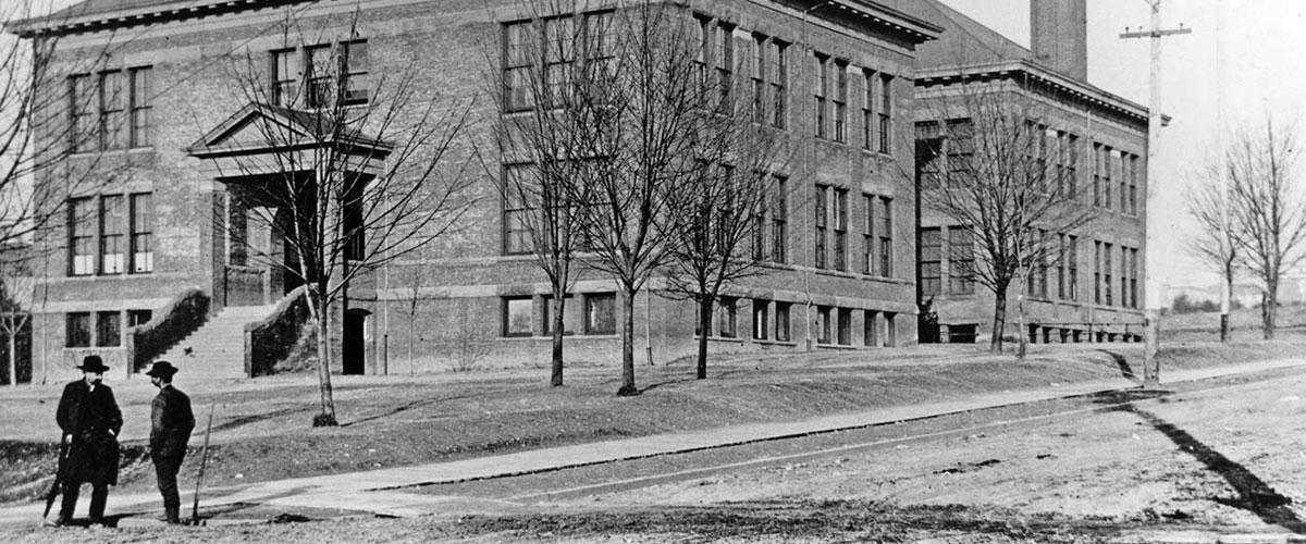 <p>John Stanford School.</p>