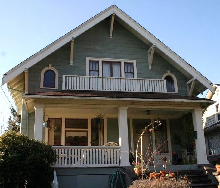 The house at 4407 2nd Ave NW was built in 1908 by Swedish immigrant Emil Nelson